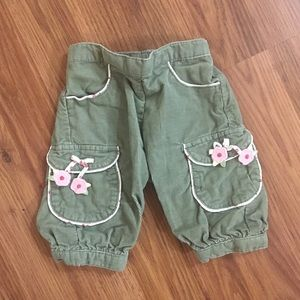 Baby girl Capris Size 3-6 months